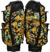 Loudmouth Golf Cartbag 3.0 Black Shagadelic