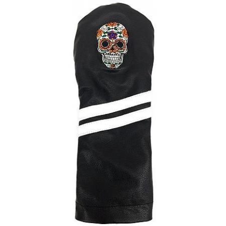 Sunfish Leder Headcover Ace Sugar Skull