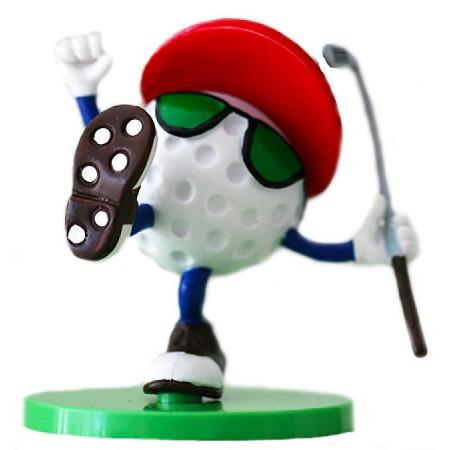 BeTheBall Golfball-Figur &quote;You Da Man&quote;