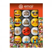 Emoji® 12er Golfball-Set