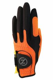 Zero Friction Allwetter Junior Handschuh, links (für Rechtshänder), orange