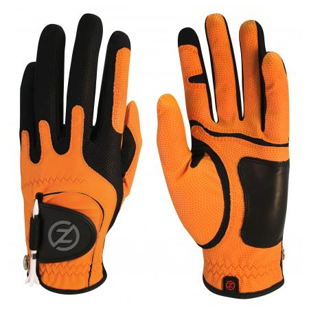 Zero Friction Allwetter Herren Handschuh, links (für Rechtshänder), orange
