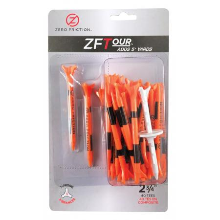 Zero Friction ZF Tour Golftees 69mm, orange