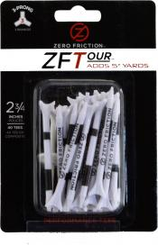 Zero Friction ZF Tour Golftees 69mm, weiß