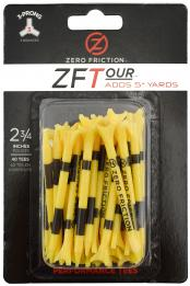 Zero Friction ZF Tour Golftees 69mm, gelb