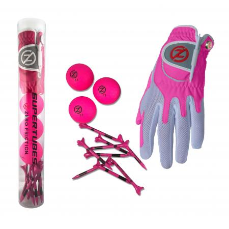 Zero Friction Spectra Supertube, Damen, pink