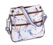 Sydney Love Crossbody Bag &quote;Words with Golf Friends&quote;