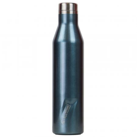 EcoVessel The Aspen Thermo Trinkflasche, 750ml, blau