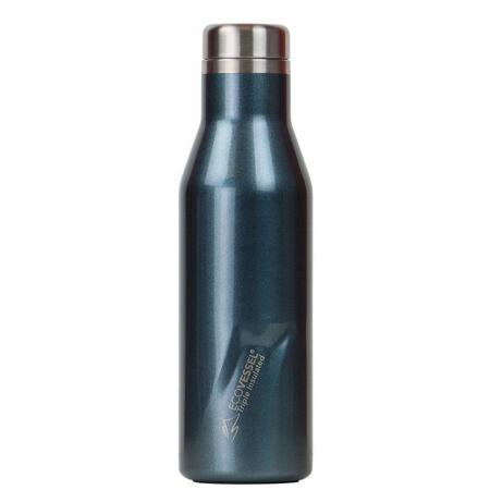 EcoVessel The Aspen Thermo Trinkflasche, 473ml, blau