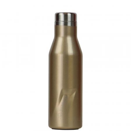EcoVessel The Aspen Thermo Trinkflasche, 473ml, gold