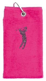 cbfmoda Golftuch &quote;Golfer&quote;, pink