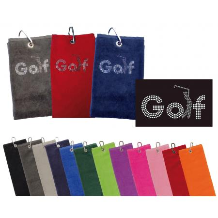 cbfmoda Golftuch &quote;Golf&quote;, softpink