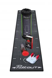 PuttOUT Complete Putting Studio, grau/rot