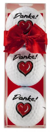 Golfball-Set &quote;Danke&quote;