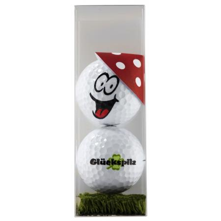 Golfball-Set &quote;Glückspilz&quote;