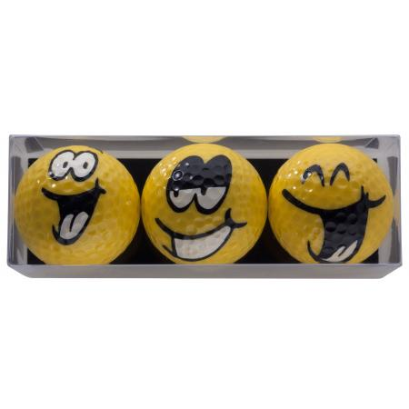 Golfball-Set &quote;Smiling Faces&quote;