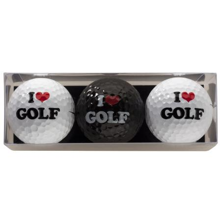 Golfball-Set &quote;I love Golf&quote;