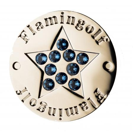 Flamingolf Crystal Ballmarker, Stern blau