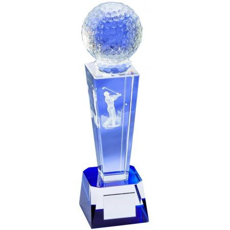 Crystal Golf Trophäe