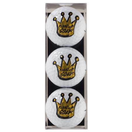 Golfball-Set &quote;King of Golf&quote;