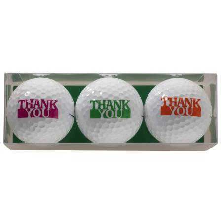 Golfball-Set &quote;Thank you&quote;