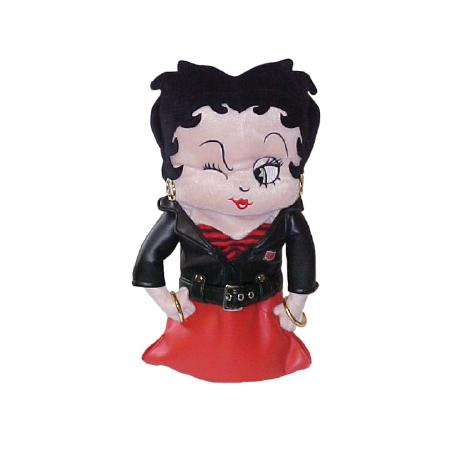 Betty Boop in Leather Headcover