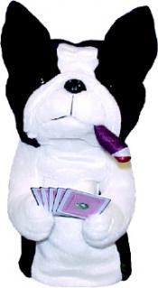 Poker Playing Dogs Headcover - Terrier