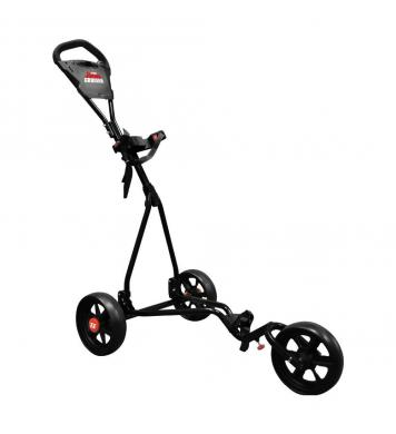 Eze Glide 3-Rad Junior Trolley, schwarz