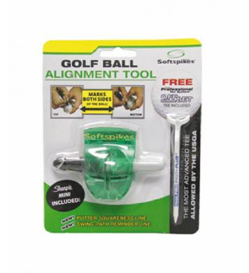 Softspikes Golfball Alignment Tool Ballmarkierer