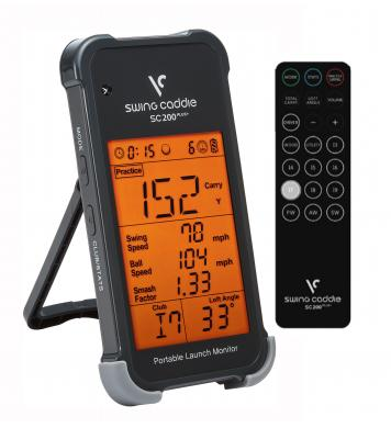 Voice Caddie SC200PLUS+ Swing Caddie Golf Launch Monitor