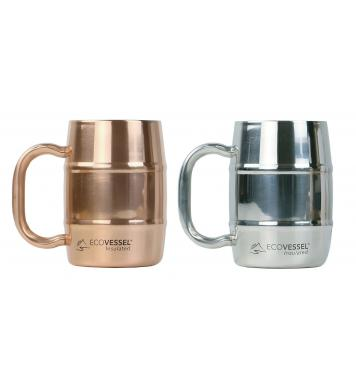 EcoVessel Double Barrel Thermo Trinkbecher 500ml