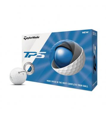 TaylorMade Golfball Tour Preferred TP5, 12 Stück, weiß
